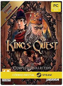 King's Quest Collection Pc Steam Código De Resgate Digital