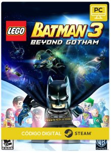 Lego Batman 3 Beyond Gotham Steam Código De Resgate Digital
