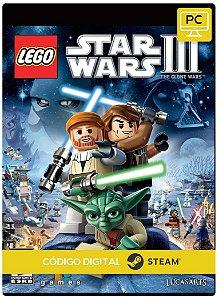 Lego Star War Iii The Clone Wars Steam Código De Resgate Digital