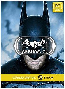 Batman Arkham Vr Steam Código De Resgate Digital