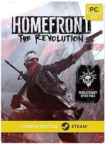 Homefront: The Revolution Steam Código De Resgate Digital