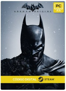 Batman: Arkham Origins Steam Código De Resgate Digital