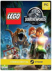 Lego Jurassic World Pc Key Steam Código de Resgate Digital