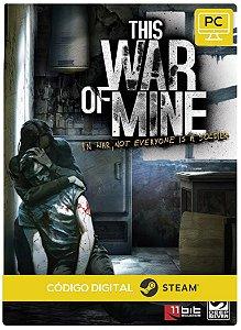 This War Of Mine Steam Código De Resgate Digital