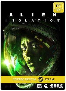 Alien Isolation Steam Código De Resgate Digital