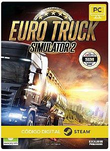 Euro Truck Simulator 2 Steam Pc Código De Resgate Digital