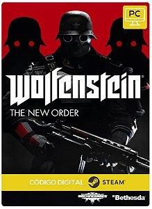 Wolfenstein The New Order Steam Código De Resgate Digital
