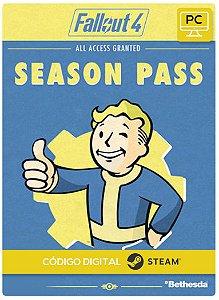 Season Pass Fallout 4 Dlc Pc Steam Código De Resgate Digital