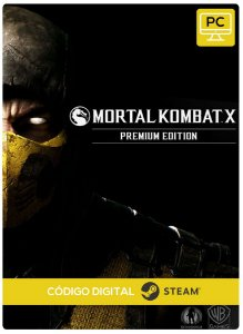 Mortal Kombat X Premium Edition Pc Steam Código De Resgate Digital