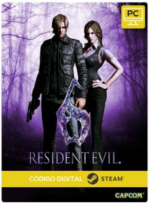 Resident Evil 6 Pc Steam Código De Resgate Digital