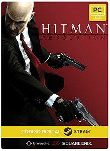 Hitman: Absolution Pc Steam Código De Resgate Digital