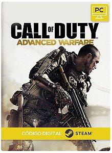 Call Of Duty: Advanced Warfare Steam Código De Resgate Digital