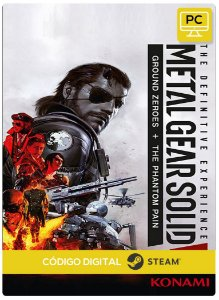 Metal Gear Solid V: The Definitive Experience Pc Steam Código de Resgate Digital