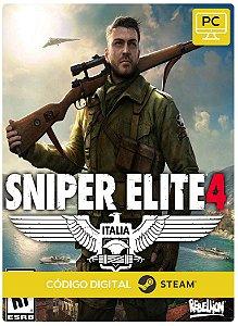 Sniper Elite 4 Steam Código De Resgate Digital