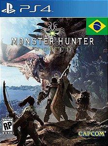 MONSTER HUNTER: WORLD PS4 PSN Mídia Digital