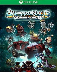 Awesomenauts Assemble Xbox One Código de Resgate 25 Dígitos