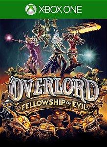 Overlord Fellowship Of Evil Xbox One Código de Resgate 25 Dígitos