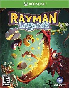Rayman Legends Xbox One Código de Resgate 25 Dígitos