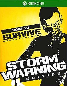 How To Survive: Storm Warning Edition Xbox One Código de Resgate 25 Dígitos
