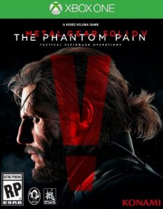 Metal Gear Solid V The Phantom Pain Xbox One Código 25