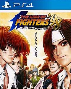 ACA NEOGEO THE KING OF FIGHTERS '98 PS4 PSN Mídia Digital
