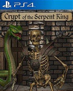 Crypt of the Serpent King PS4 PSN Mídia Digital