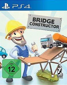 Bridge Constructor Portal PS4 PSN Mídia Digital