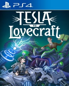 Tesla vs Lovecraft PS4 PSN Mídia Digital