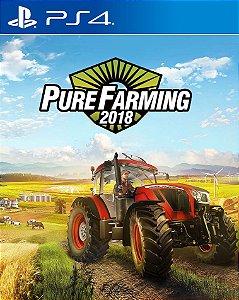 Pure Farming 2018  PS4 PSN Mídia Digital