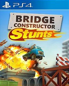 Bridge Constructor Stunts PS4 PSN Mídia Digital