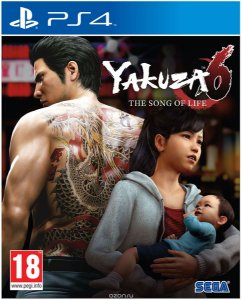 Yakuza 6: The Song of Life PS4 PSN Mídia Digital