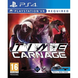 Time Carnage VR  PS4 PSN Mídia Digital