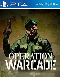 Operation Warcade VR PS4 PSN Mídia Digital