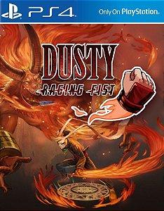Dusty Raging Fist PS4 PSN Mídia Digital