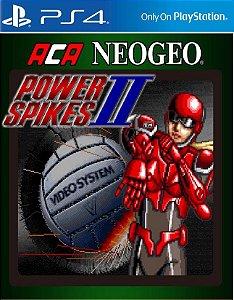 ACA NEOGEO POWER SPIKES II PS4 PSN Mídia Digital
