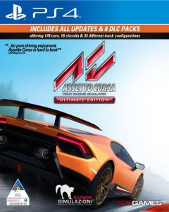 Assetto Corsa Ultimate Edition PS4 PSN Mídia Digital
