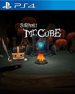 SURVIVE! MR.CUBE PS4 PSN Mídia Digital