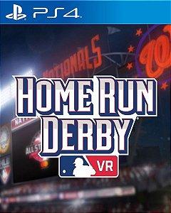 MLB Home Run Derby VR  PS4 PSN Mídia Digital