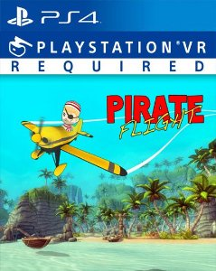 Pirate Flight VR  PS4 PSN Mídia Digital