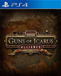 Guns of Icarus Alliance  PS4 PSN Mídia Digital