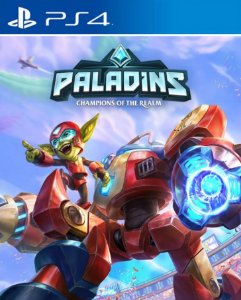 Passe de Temporada 2018 de Paladins  PS4 PSN Mídia Digital