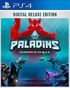 Paladins Digital Deluxe Edition  PS4 PSN Mídia Digital