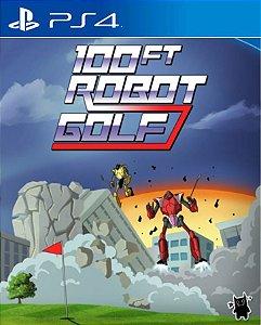 100ft Robot Golf  PS4 PSN Mídia Digital