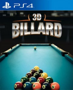 3D Billiards PS4 PSN Mídia Digital
