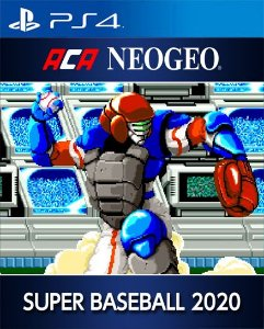 ACA NEOGEO 2020 SUPER BASEBALL PS4 PSN Mídia Digital