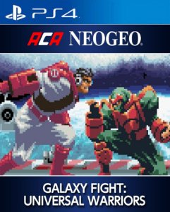 ACA NEOGEO GALAXY FIGHT: UNIVERSAL WARRIORS PS4 PSN Mídia Digital
