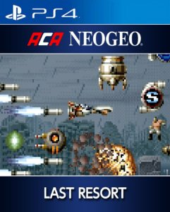 ACA NEOGEO LAST RESORT PS4 PSN Mídia Digital