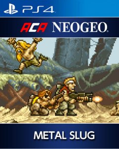 ACA NEOGEO METAL SLUG PS4 PSN Mídia Digital