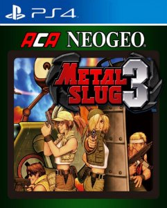 ACA NEOGEO METAL SLUG 3 PS4 PSN Mídia Digital