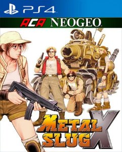 ACA NEOGEO METAL SLUG X PS4 PSN Mídia Digital